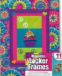 MAGNETIC LOCKER FRAMES (2 FRAMES WITH 9 BONUS MAGNETS)