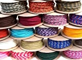 Paracord 250+ Colors of Midwest Cord TM Brand Parachute Cord in 100 Foot 100ft Spool 50ft 25ft and 10ft Size Options