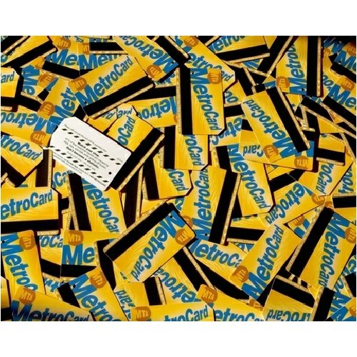 New York MetroCard Madness Jigsaw Puzzle 500pc