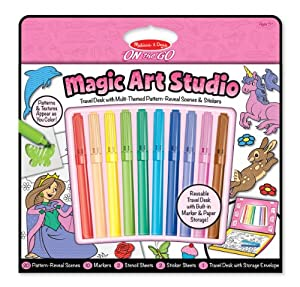 Melissa And Doug Fashion Design Studio Melissa amp Doug Magic Art