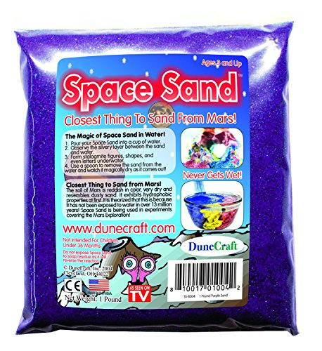 Dunecraft Space Sand 1 oz. Purple Science Kit - 1