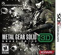 Metal Gear Solid Snake Eater 3D by Konami