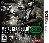 Metal Gear Solid Snake Eater 3D: Video Games