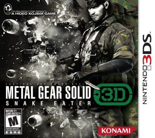 Metal Gear Solid Snake Eater 3D front-907196