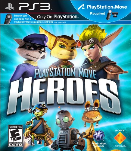 Playstation Move Heroes (Motion Control) - 1