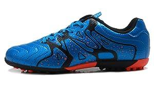 ad9d4cca7 T B Cleat Soccer Turf Football Shoes Kids Casual Footwear Sky Blue Black ...