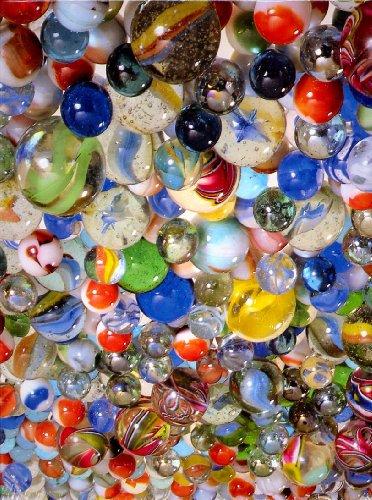 """Springbok Puzzle - Marbles! - 500 Pieces 20"""" X 20"""" - 1"""