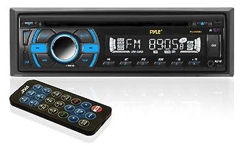 Pyle PLCD41MU Lecteur MP3 Noir