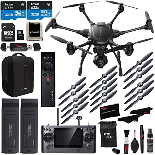 Yuneec Typhoon H 4k Collision Avoidance Hexacopter With GCO3 4K Camera Kit...