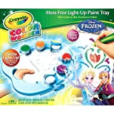 Crayola Disney Frozen Color Wonder Frozen Mess Free Light-Up Paint Tray