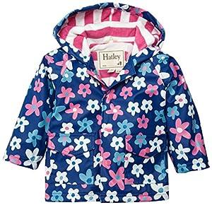 Hatley Infant Raincoat -Summer Garden - Abrigo impermeable para niñas