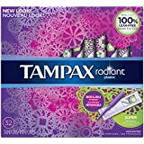 Radiant plastic Super absorbency unscented tampons 32ct