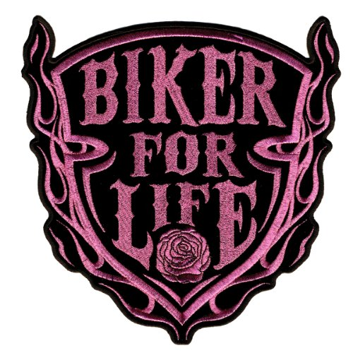 Hot Leathers Lady Biker For Life Shield (4