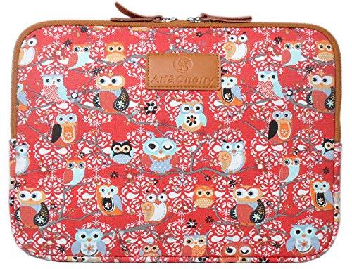 artcherry-c-14-143-universal-notebook-laptop-schutzhulle-hulle-tasche-aus-feinstem-canvas-gewebe-14z