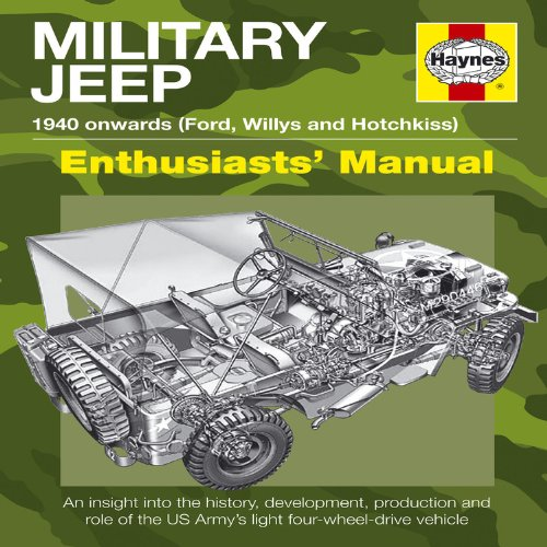 Military Jeep: 1940 Onwards (Ford, Willys and Hotchkiss) (Enthusiasts' Manual)
