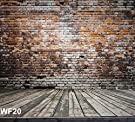 8x8ft Brick Wall Pictorial cloth Customized photography Backdrop Background studio prop WF20
