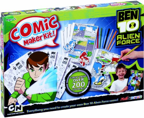 Ben 10 Alien Force Comic Maker Kit
