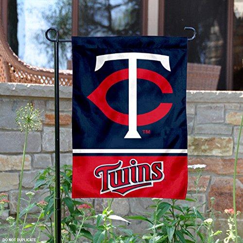 Minnesota Twins Double Sided Garden Flag