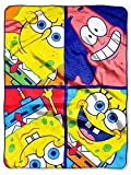 nickelodeon spongebob throw