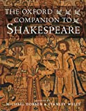 The Oxford Companion to Shakespeare (Oxford Companions) (0192806149) by Wells, Stanley