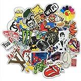 HANIBPackung-mit-100-Aufkleber-fr-Skateboard-Snowboard-Weinlese-Vinylaufkleber-Graffiti-Laptop-Gepck-Auto-Fahrrad-Decals-mischen-Lot-Art-und-Weisekhler