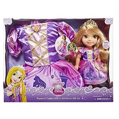 Disney Princess Toddler Rapunzel and Matching Girl's Dress