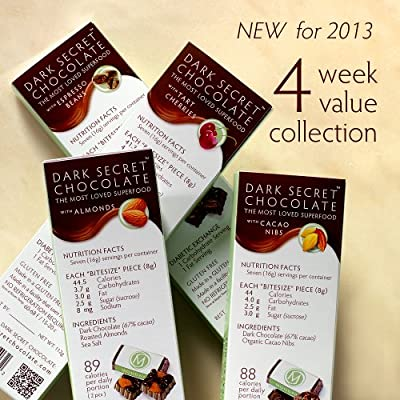 DARK SECRET 4 week value collection - Four 7 Day Boxes