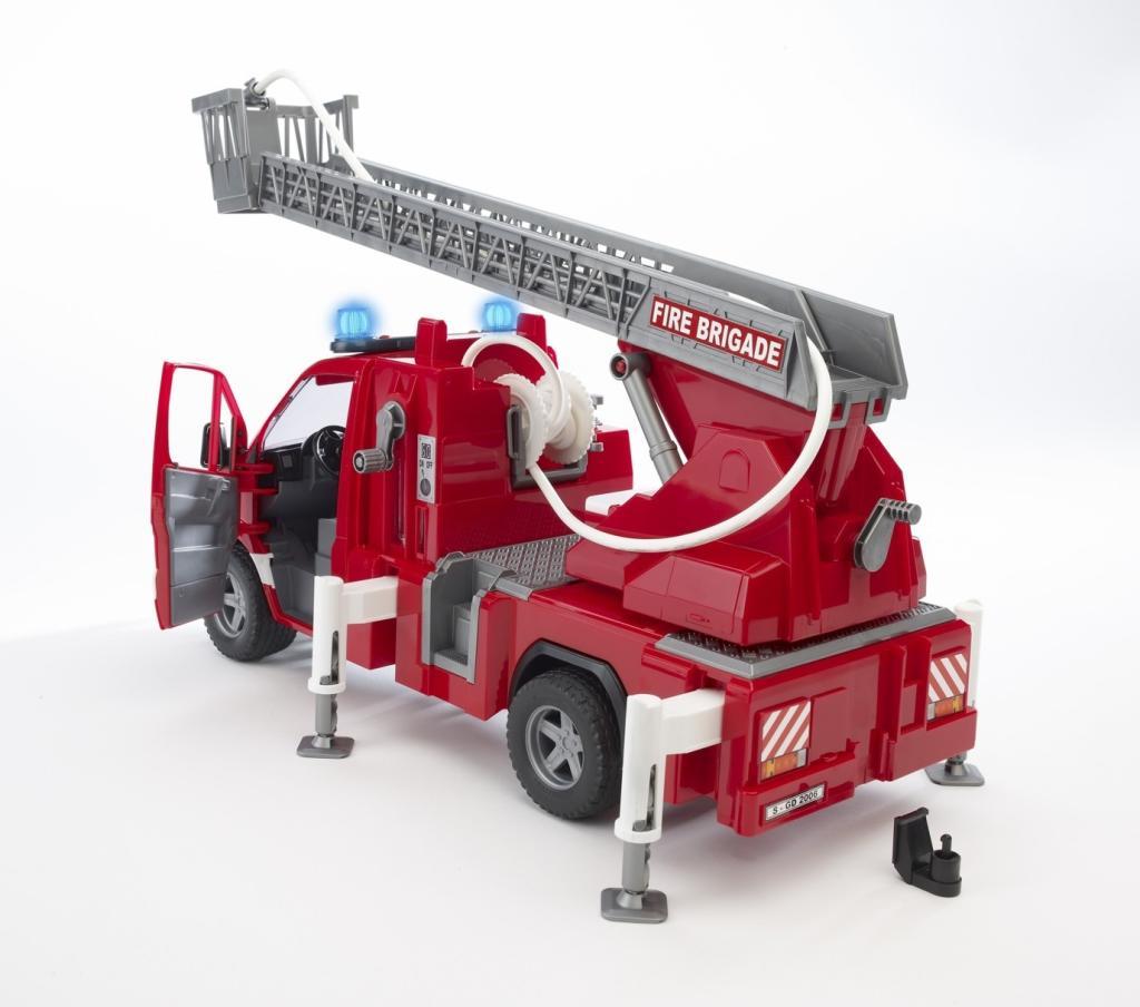 bruder 02532 camion pompier mercedes sprinter avec. Black Bedroom Furniture Sets. Home Design Ideas