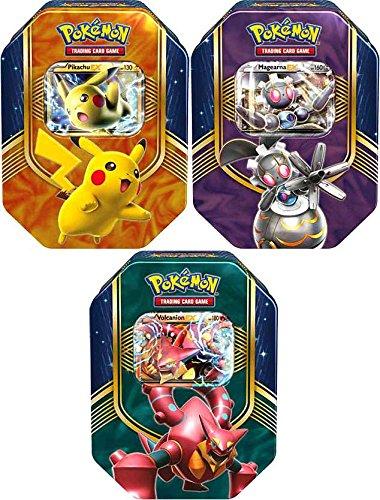 Pokemon-2016-Battle-Heart-Volcanion-EX-Magearna-EX-Pikachu-EX-Set-of-3-Collector-Tins