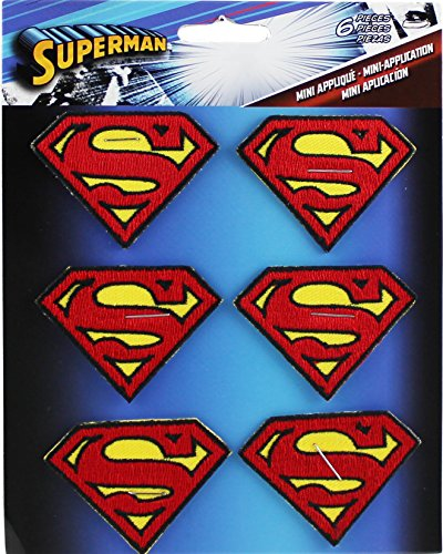 Application DC Comics Superman 6 Logo Patch Set - 1