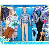Fisher-Price - Barbie's Ken Exclusive Doll & California Fashion Pack Set
