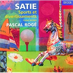 Satie: Sports et Divertissements - Le Feu d'artifice