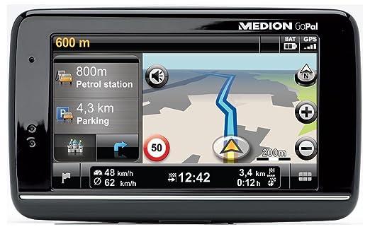 """Medion GoPal E4145 WE GPS Europe de l'ouest- Ecran tactile 4,3"""" 22 pays Mémoire intégré 2 Go"""