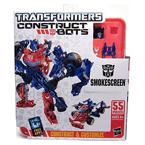 Transformers Construct-Bots Elite Class Smokescreen Buildable Action Figure - 1