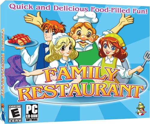 Family Restaurant (Jewel Case) front-662160