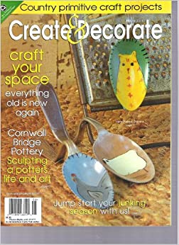 Create decorate magazine craft your space everything for Create and decorate magazine free
