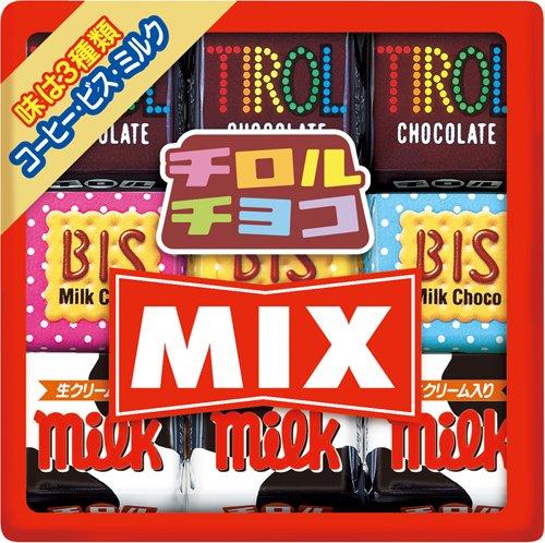 チロルチョコ チロル ミックス 9個×10袋