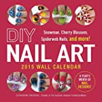DIY Nail Art 2015 Wall Calendar: Snow...