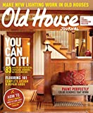 Old House Journal (1-year auto-renewal)