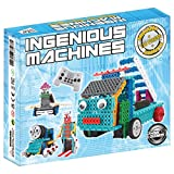 Ensemble-de-construction-pour-enfants-Kit-de-construction-de-jouet-tlcommand-Ingenious-Machines-Le-fantastique-Kit-Robot-amusant-jouet-de-construction-TG632-par-ThinkGizmos-Protection-de-marque-Toutes