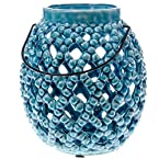 Blue and Teal Stonewre Lantern