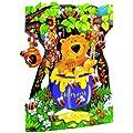 Santoro Interactive 3-D Swing Greeting Card, Honeybear (SSC87)
