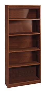 Bestar Standard Bookcase, Tuscany Brown