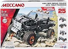 Comprar Meccano 4x4 Off-Road Truck - juegos de construcción (Vehicle, Batería, AA, Negro, Plata, Metal, Caja)