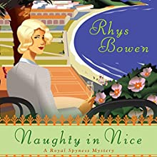 Naughty in Nice Audiobook by Rhys Bowen Narrated by Katherine Kellgren