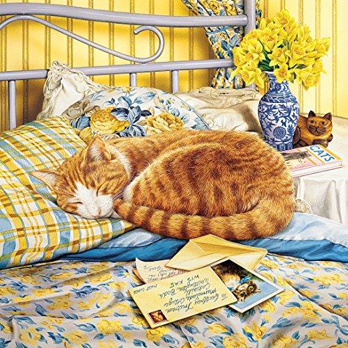 Masterpieces Flora Cat O Logy Jigsaw Puzzle (1000-Piece)