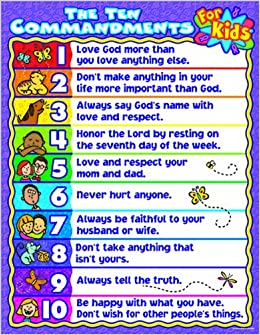 The Ten Commandments for Kids: Amazon.co.uk: Linda Standke ...
