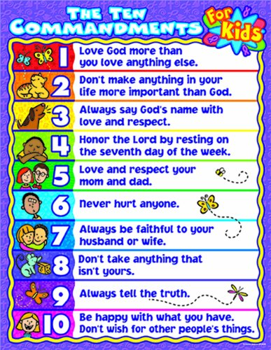 The Ten Commandments Catholic for Kids