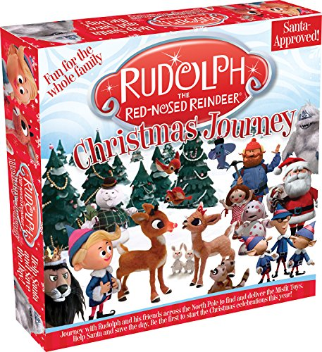Rudolph The Red Nosed Reindeer Board Game