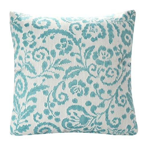 SiJacquard Floral Pattern Throw Pillow Cushion Cover